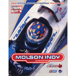 2002 Vancouver Indy Official Racing Program