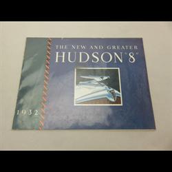 1932 Hudson Eight Sales Catalog-Brochure