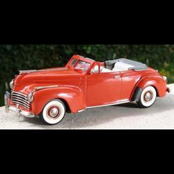 Chrysler New Yorker Convertible 1941 red CTCS 2000 - Brooklin 1:43 Diecast