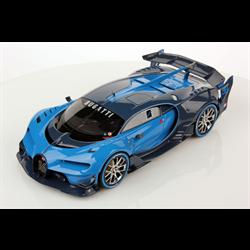 BUGATTI Vision Gran Turismo Light Blue/Blue Carbon AUTOart 1:18 Composite