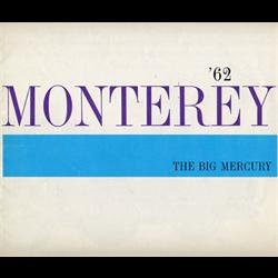 1962 MERCURY Monterey Sales Catalog-Brochure