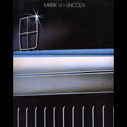 1983 LINCOLN Mark VI Sales Catalog-Brochure