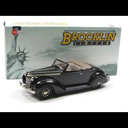 Chrysler Imperial C-14 1937 2-dr Convertible dark green Brooklin 1:43 Diecast