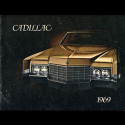 1969 CADILLAC Full-line Sales Catalog-Brochure