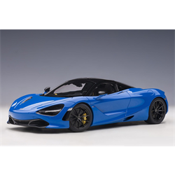 McLaren 720S Paris Blue, Metallic Blue AUTOart 1:18 Composite