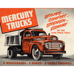1949 MERCURY Trucks Full-line Sales Catalog-Brochure