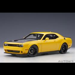 Dodge Challenger SRT HellCat Widebody yellow jacket AUTOart 1:18 Composite