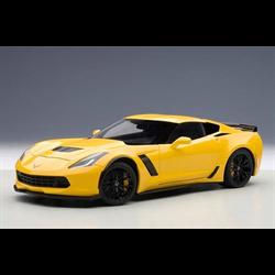 Chevrolet Corvette C7 Z06 C7R edition - yellow  - AUTOart 1:18 Diecast
