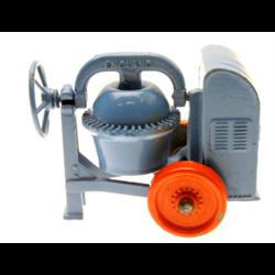 Cement Mixer, blue & orange, Matchbox No.3