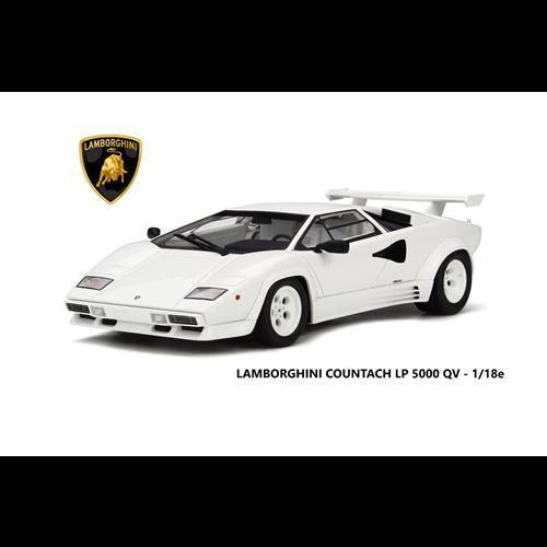 Lamborghini Countach Lp5000 Quattro Valvole White Kyosho 1 18