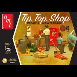 Garage Accessory Set #2 Tip Top Shop AMT 1:25 model kit