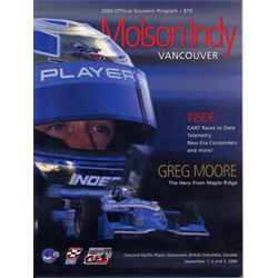 2000 Vancouver Indy Official Racing Program