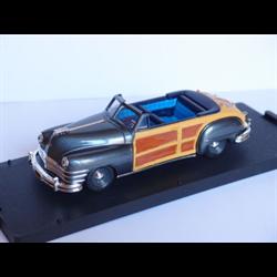 Chrysler Town & Country 1947  Dark Grey - Vitesse 1:43 Diecast