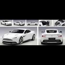 ASTON MARTIN VANQUISH (GLOSSY WHITE)  - AUTOart 1:18 Composite Model