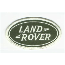 "Embroidered Patch ""Land Rover"" cloth badge logo iron-on"