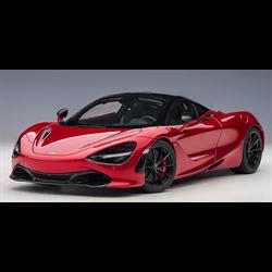 McLaren 720S Memphis Red, Metallic Red AUTOart 1:18 Composite