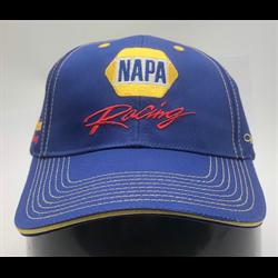 NAPA Racing hat blue/yellow cap - Bill Davis Racing