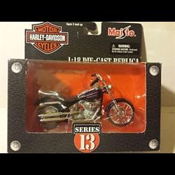 Harley Davidson 2002 FXSTD Softail Deuce Maisto 1:18 Diecast