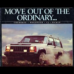 1984 JEEP Full-line Sales Catalog-Brochure