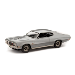 Buick GS Hardtop Coupe 1970 Silver Mist Brooklin 1:43 Diecast