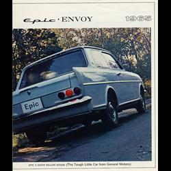 1965 GM Epic-Envoy Sales Catalog-Brochure