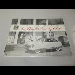 1946 NASH Rambler Sales Catalog-Brochure