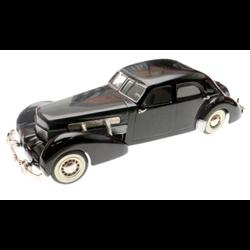 Cord Beverly Sedan1937 black, S.A.M.S. #2 1:43 Diecast #9 of 75