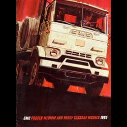 1965 GMC Medium & Heavy Duty Trucks Sales Catalog-Brochure