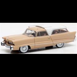 Chrysler Plainsman Concept beige / white 1956  - Matrix 1:43  Resin model