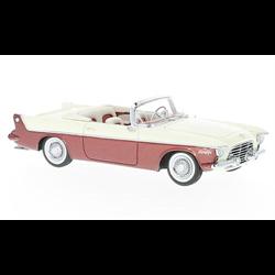 Chrysler Flight Sweep I 1955 white, red NEO 1:43 Resin Diecast model