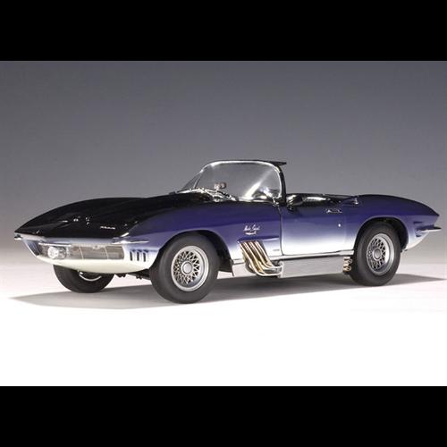 Chevrolet Corvette Mako Shark 1961 Blue Autoart 118 Diecast Model