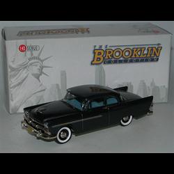 Plymouth Plaza 2 Door Club Sedan 1956 metallic blue - Brooklin 1:43 Diecast