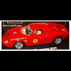 Ferrari 250 LM #1 1965  -1:18 Diecast by BBURAGO