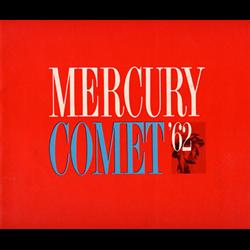 1962 MERCURY Comet Sales Catalog-Brochure