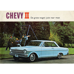 1962 CHEVROLET Chevy II Sales Catalog-Brochure in Dutch