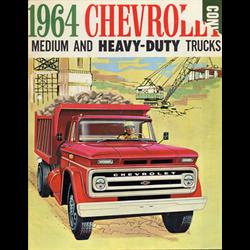 1964 CHEVROLET Medium & Heavy Duty Trucks Sales Catalog-Brochure