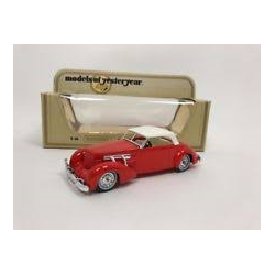 Cord 812 1937 red Matchbox Yesteryear Diecast