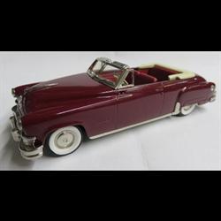 Chrysler Imperial 1951 Custom Convertible Dark Red - Brooklin 1:43 Diecast