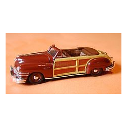 Chrysler Town & Country 1947 Maroon - Vitesse 1:43 Diecast