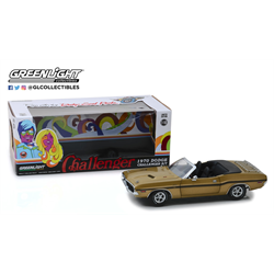 Dodge Challenger R/T 1970 convertible gold Greenlight 1:18 Diecast