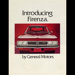 1971 GM Firenza Sales Catalog-Brochure