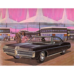 1967 PONTIAC Full-line Large Sales Catalog-Brochure