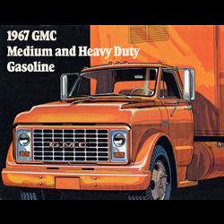 1967 GMC Medium & Heavy Duty Trucks Sales Catalog-Brochure