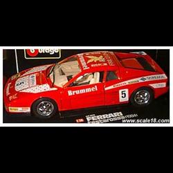 Ferrari Testarossa #5 1984  -1:18 Diecast by BBURAGO