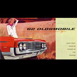 1962 OLDSMOBILE Full-line Sales Catalog-Brochure