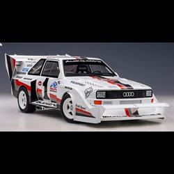 Audi Quattro S1 Pikes Peak Winner 1987 W.Roehrl #1 AUTOart 1:18 Diecast