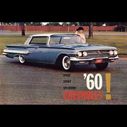 1960 CHEVROLET Full-line Sales Catalog-Brochure