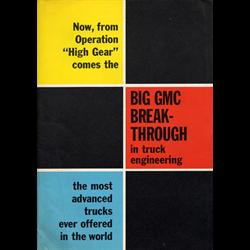 1960 GMC Trucks Full-line Sales Catalog-Brochure