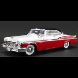 Chrysler New Yorker SS Regis 1956 red/white/ black Acme 1:18 Diecast