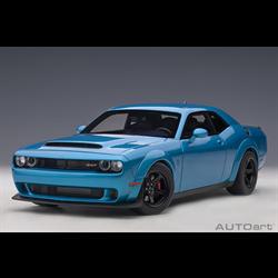 Dodge Challenger Demon SRT B5 blue pearl coat AUTOart 1:18 Composite